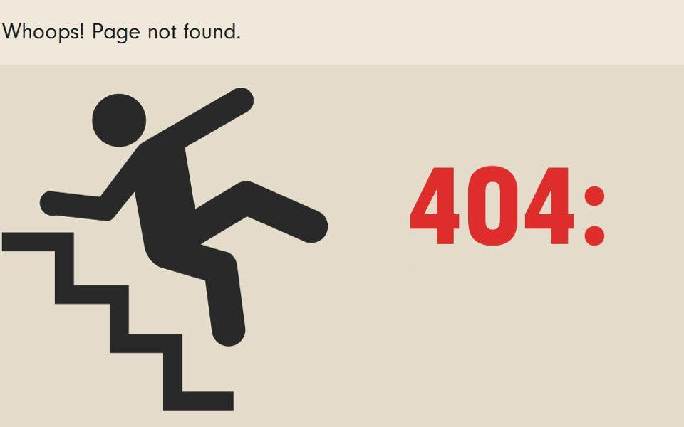 ارور 404 چطور بوجود آمد؟