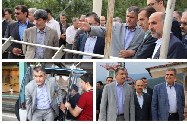 استاندار مازندران از پروژه های عمرانی تنکابن بازدید کرد