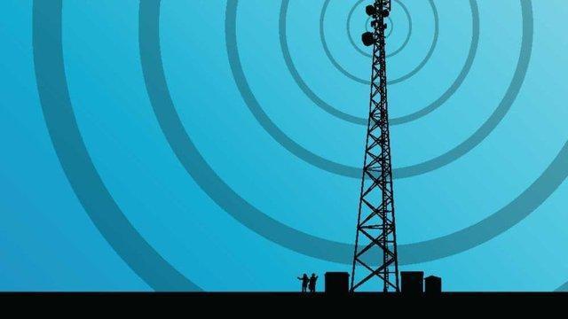 نظارت آنلاین بر پرتوهای رادیویی، تشعشات اندازه گیری می شوند