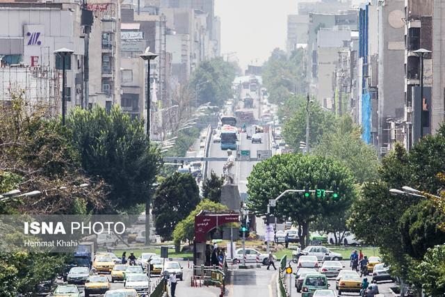 گرد و غبار، علت آلودگی هوا در بیش از نیمی از روزهای گرم تهران