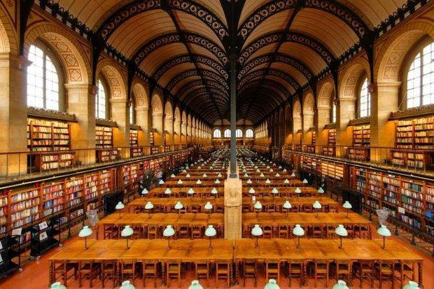 پیوند کتابخانه ها و موزه ها در پاریس