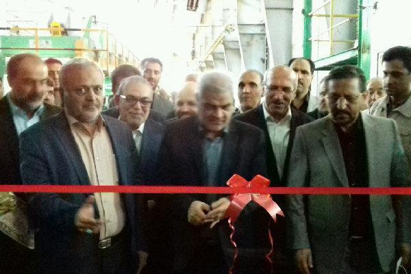 طرح توسعه دو واحد تولیدی در شهر صنعتی البرز قزوین افتتاح شد
