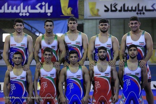 سومی کشتی آزاد جوانان ایران در دنیا با یک طلا، یک نقره و یک برنز
