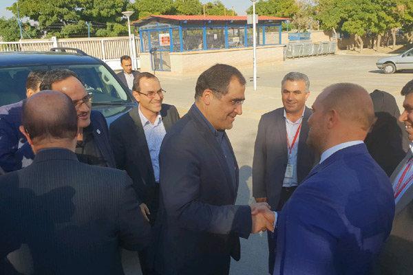 وزیر بهداشت وارد قزوین شد