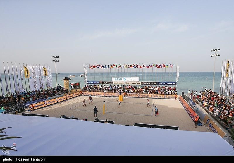 والیبال ساحلی قهرمانی آسیا، تیم ایران فینالیست شد