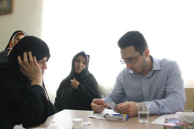 طرح کاروان سلامت طبیبان رحمت در گلستان اجرا شد
