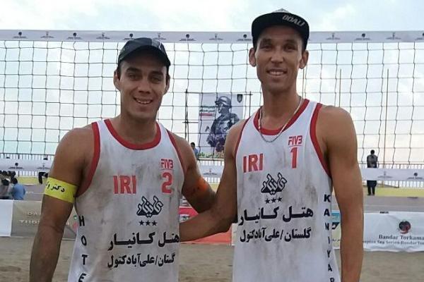 ایران (1) قهرمان تور جهانی والیبال ساحلی بندرترکمن شد