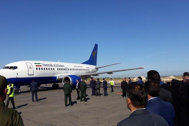 اولین خط پروازی بومی مازندران راه اندازی شد