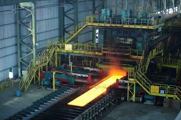 رشد فراوری فولاد خام ایران و دنیا