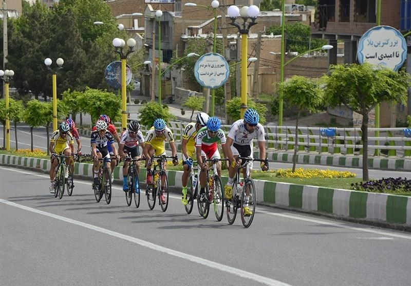 قهرمانی گنج خانلو در در مرحله دوم لیگ دوچرخه سواری جاده
