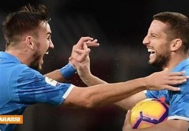 فوتبال دنیا، ناپولی در بازی برفی به روند پیروزی هایش ادامه داد