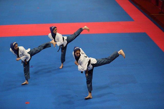 5 مدال ایران تا سرانجام روز دوم پومسه قهرمانی دنیا، تیم زنان طلا گرفت