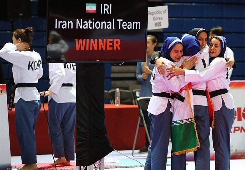 واکنش فدراسیون تکواندو به پخش سرود اشتباهی ایران