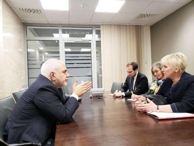 تاکید وزیران خارجه ایران و سوئد بر ادامه تماس های دو کشور در مسائل مختلف
