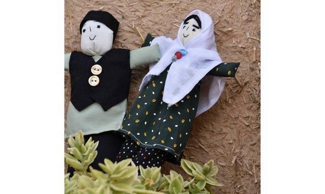 عروسک های چادری محبوب خارجی ها