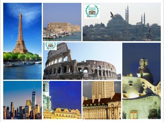 25 شهر برگزیده مسافران دنیا در سال 2018