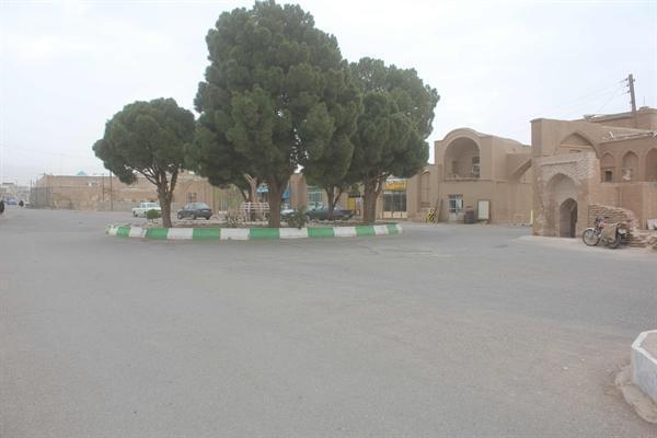 محوطه سازی مجموعه تاریخی شهر سرایان شروع شد
