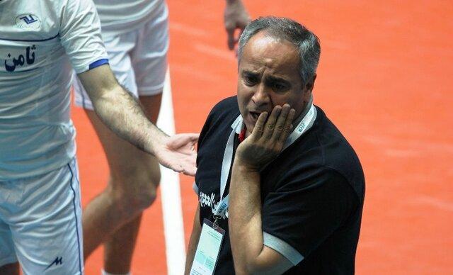 قوچان نژاد: مشکل داوری لیگ برتر والیبال چیدمان آن ها است