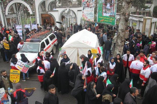 419 نفر از خدمات ایستگاه سلامت هلال احمر گلستان بهره مند شدند