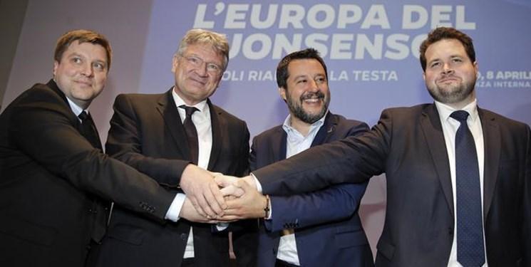 خیز احزاب افراط گرای آلمانی و ایتالیایی برای تغییر در اروپا