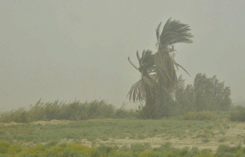وزش باد شدید در جنوب شرق کشور