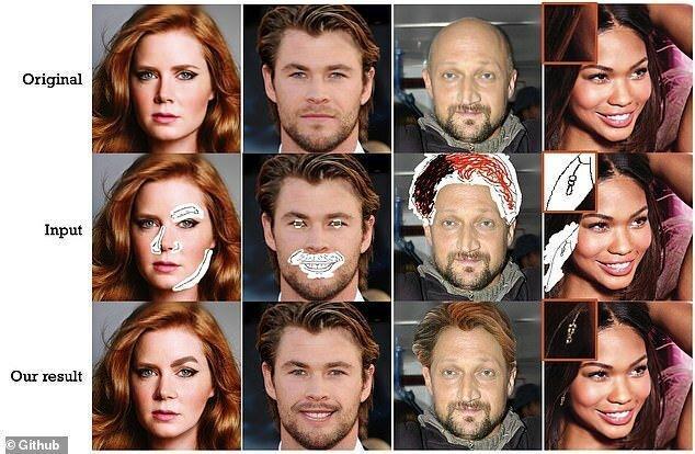 هوش مصنوعی چهره را تغییر می دهد