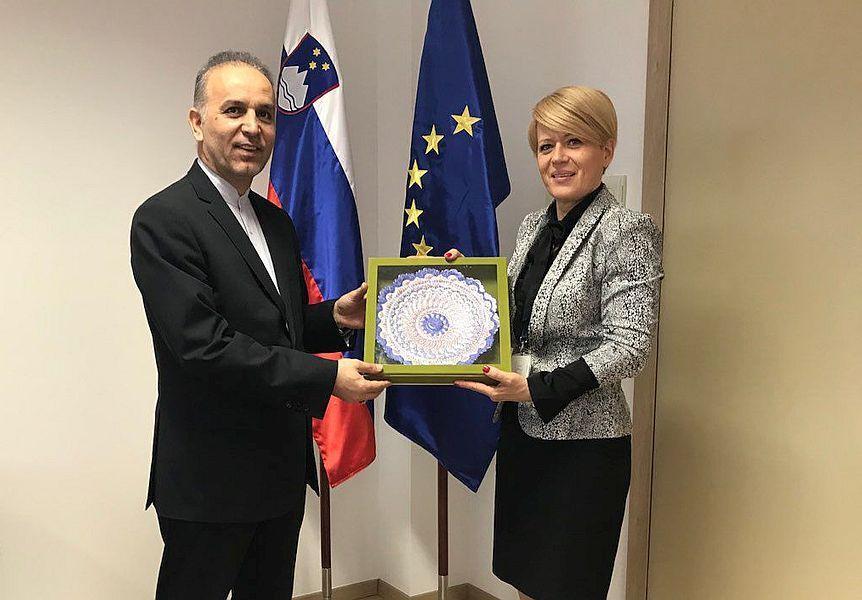 ایران و اسلوونی بر گسترش همکاری های کشاورزی تاکید کردند