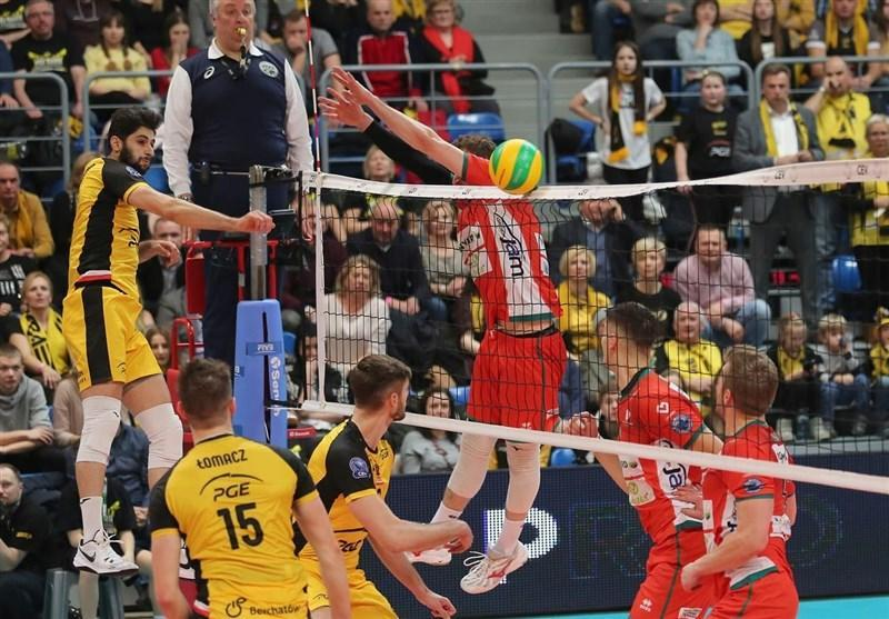 لیگ والیبال لهستان، پیروزی یاران عبادی پور مقابل شاگردان آناستازی