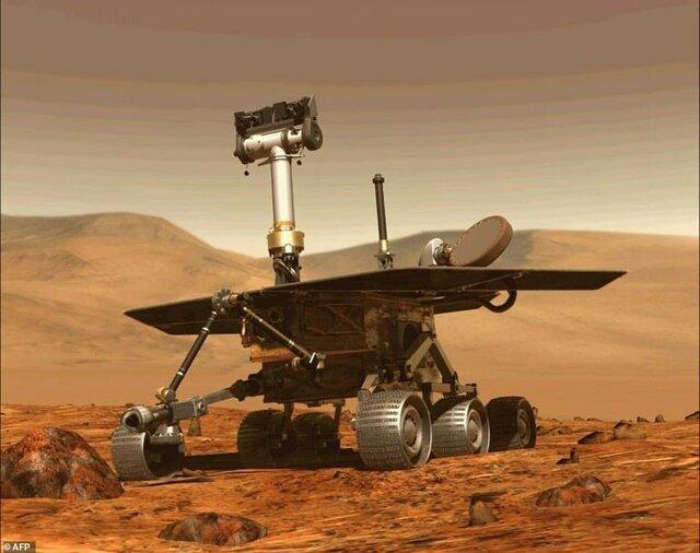 فرصتی برای دیدن سایه های شگفت آور و گردباد مریخ