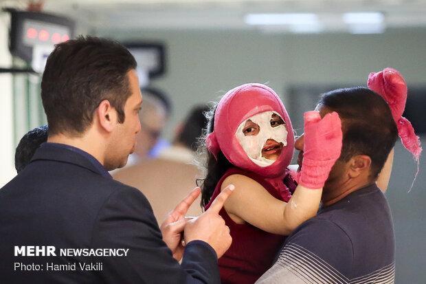 کاهش 40 درصدی مصدومان چهارشنبه سوری در اردبیل، 148 نفر مصدوم شدند