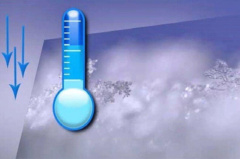 کاهش 6 درجه ای دما در شمال شرق کشور