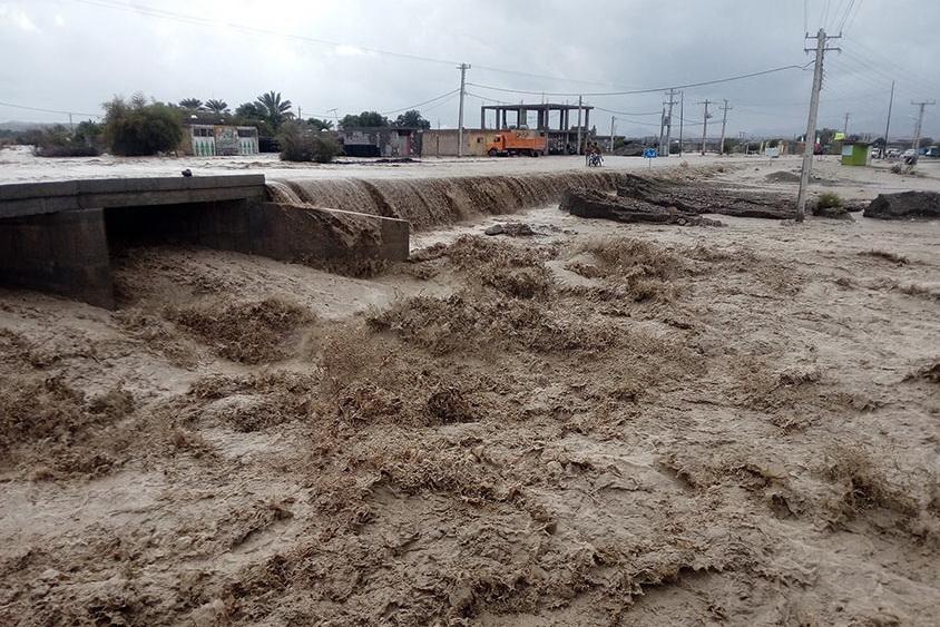 هشدار وقوع سیلاب و طغیان رودخانه ها از جنوب تا شرق کشور