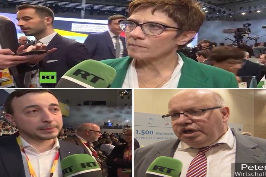 بالاگرفتن انتقادها از وزیر دادگستری آلمان به خاطر مصاحبه با رسانه روسی