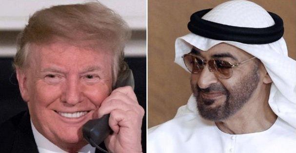 ترامپ درباره تحریم های ایران با ولیعهد ابوظبی رایزنی کرد