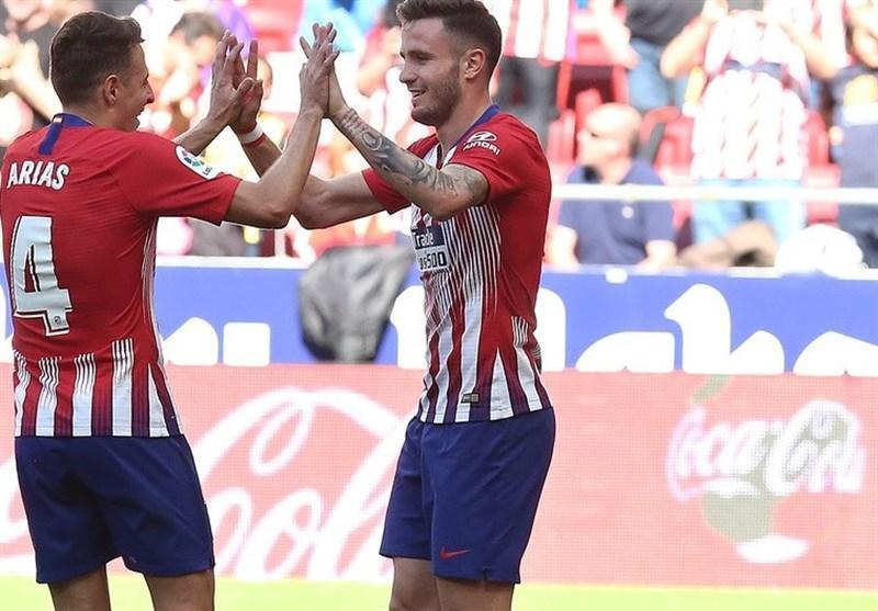 اتلتیکومادرید به 6 امتیازی بارسلونا رسید