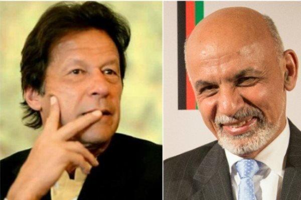 عمران خان از اشرف غنی برای سفر به پاکستان دعوت کرد