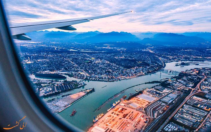 چطور از فرودگاه ونکوور کانادا به مرکز شهر برویم؟