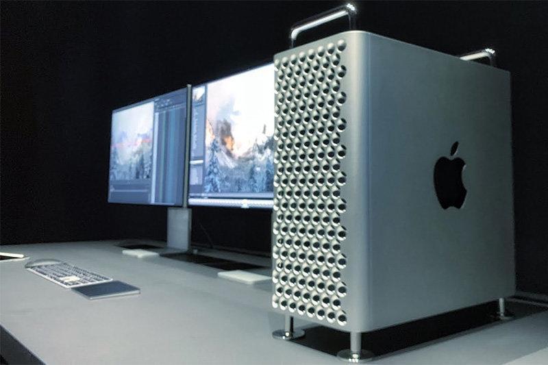 فیلم ، مک پرو 6 هزار دلاری اپل و نمایشگر 5 هزار دلاری اش را ببینید