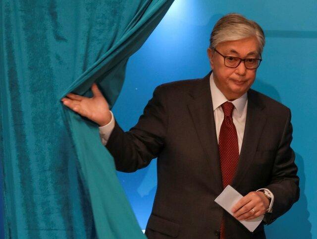 متحد نظربایف 70 درصد از آرای انتخابات قزاقستان را از آن خود کرد