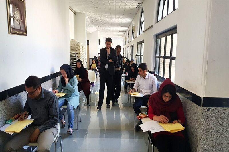 خبرنگاران آزمون ادواری رشته های مهارتی ارشاد در قزوین برگزار شد