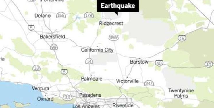 زمین لرزه ای با قدرت بی سابقه کالیفرنیا را لرزاند