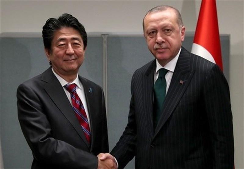 اردوغان: ترکیه و ژاپن ممکن است به عنوان رابط بین ایران و امریکا عمل نمایند