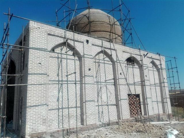 سامان دهی و مرمت زیارتگاه هفت صندوق در تاکستان