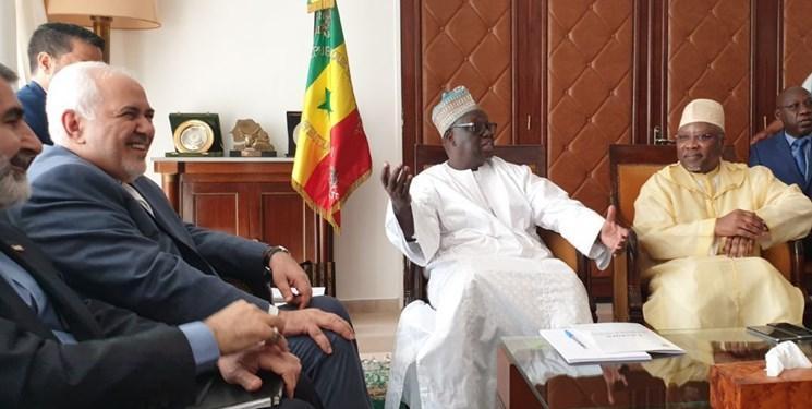 ظریف با رئیس مجلس ملی سنگال دیدار کرد