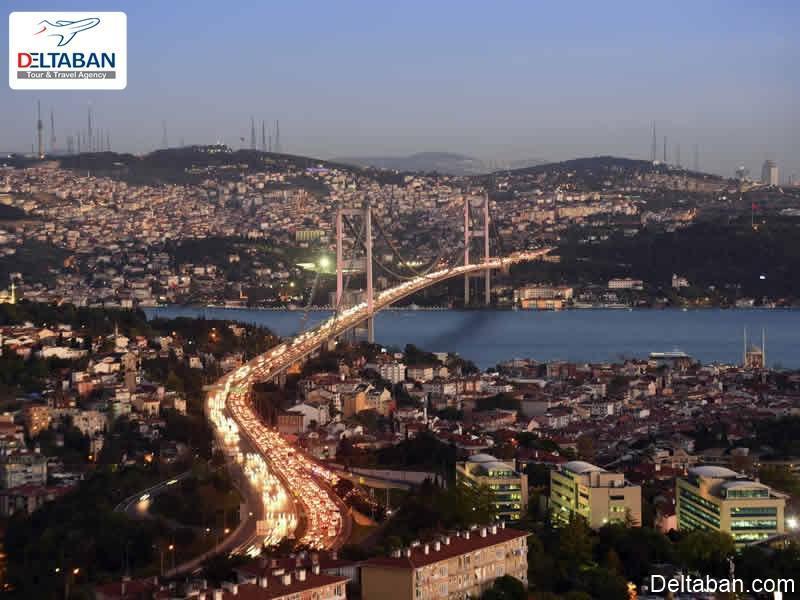 معرفی کامل و آشنایی با پل های استانبول