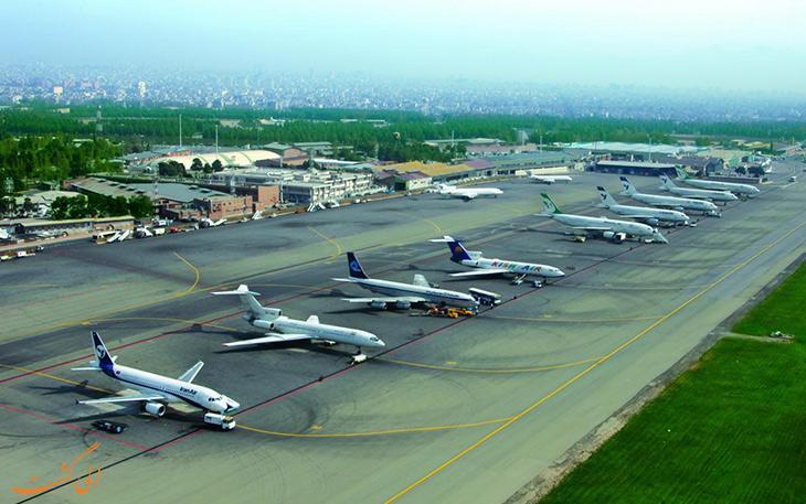 به مناسبت روز ارتش فرودگاه های تهران تعطیل است
