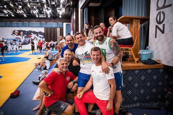 سرمربی در کمپ صربستان، تکواندوکاران در اردوی تیم ملی