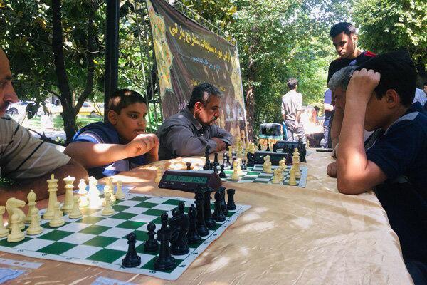 مسابقات شطرنج پارکی برگزار گردید