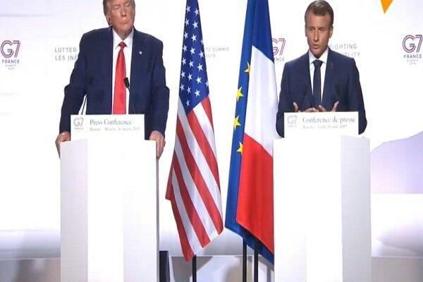 ماکرون: امیدوارم طی هفته های آینده به توافقی با ایران برسیم