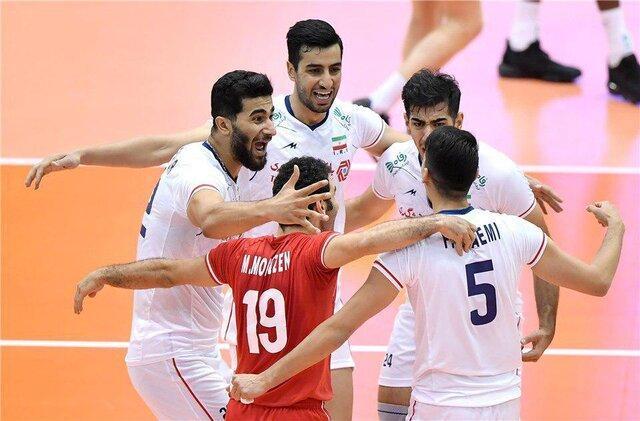 نخستین پیروزی والیبال ایران با جوانان، کانادا تسلیم شد
